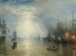Turner Keelmen Heaving in Coals by Moonlight 1835 NGA