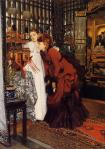 1869, James Jacques Tissot, Young Women Looking at Japanese Objects, Cincinnati