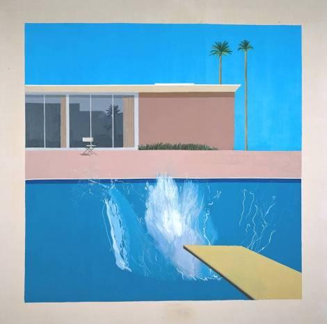 David Hockney A Bigger Splash 1967 Tate