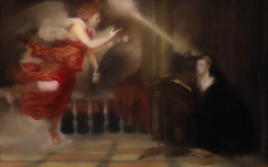 Gerhard Richter Annunciation after Titian 1973 Hirshhorn Zwiastowanie wg Tycjana