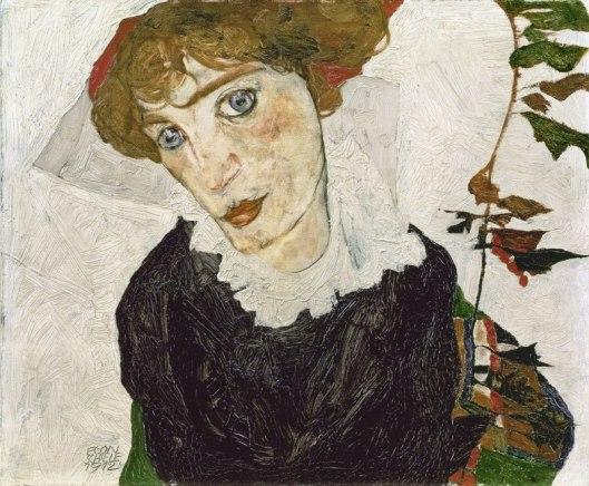 Egon Schiele Wally Neuzil 1912 Leopold Museum