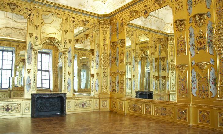 Gold Cabinet Unteres Belvedere Vienna Wien Artdone