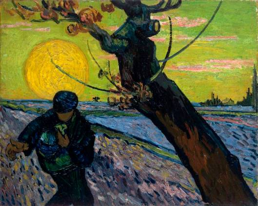 Vincent van Gogh The Sower 1888 Van Gogh Museum