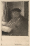 Edgar Degas engraver Joseph Tourny 1857 etching