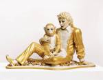 Jeff Koons Michael Jackson and Bubbles 1988 The Broad Art Foundation Santa Monica