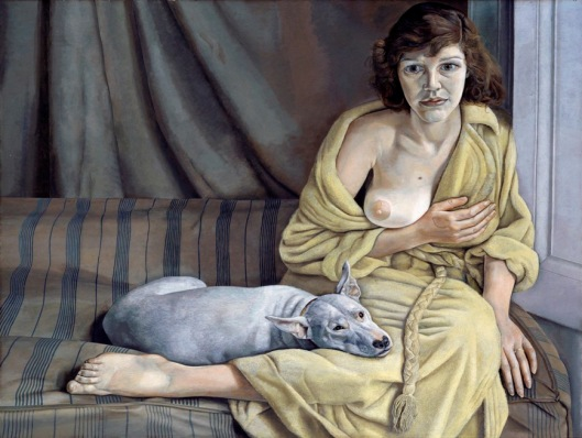 Lucian Freud Girl with white dog 1950 51 Tate