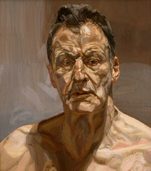 Lucian Freud Reflection Self-portrait 1985 priv Ireland