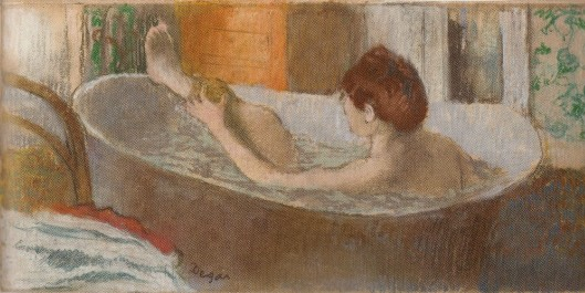 Edgar Degas Woman in Her Bath Sponging Her Leg 1883 84 Orsay