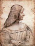 Leonardo Portrait of Isabella d'Este 1499 1500 Louvre