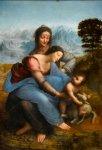 Leonardo St Anne 1503 19 Louvre
