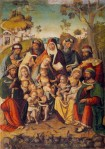 Lorenzo Fasolo Family of the Virgin 1513 Louvre