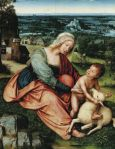 Quentin Metsys The Virgin and Child in a Landscape Muzeum Narodowe w Poznaniu