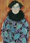 Gustav Klimt Johanna Staude 1917 18 Incomplete Belvedere