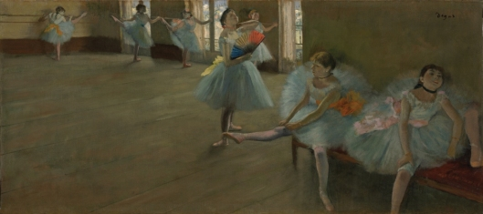 Edgar Degas Dancers in the Classroom ca 1880 Clark Art Institute Williamstown