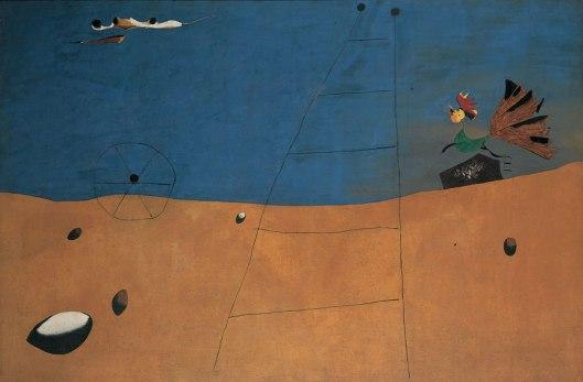 Joan Miró Landscape with Rooster 1927 Fondation Beyeler Basel