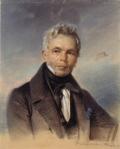 Franz Krüger Karl Friedrich Schinkel 1836 pastel Berlin