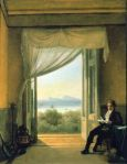 Franz Ludwig Catel Schinkel in Naples 1824 Berlin