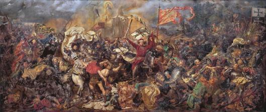 Jan Matejko Battle of Grunwald 1878 National Museum in Warsaw MNW