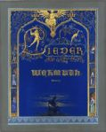 Karl Friedrich Schinkel Design for the book cover Lieder der Wehmut ca 1815 Berlin