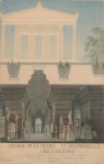 Karl Friedrich Schinkel Design of Crimea Museum in Orianda Palace 1838 Berlin
