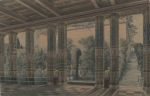 Karl Friedrich Schinkel Design of Orianda Palace in Crimea Imperial Court 1838 Berlin