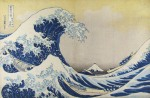 Katsushika Hokusai Great Wave off the Coast of Kanagawa from the series 36 Views of Mount Fuji ca 1830