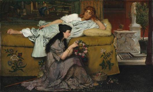 Lawrence Alma-Tadema Glaucus and Nydia 1867 Cleveland Museum of Art