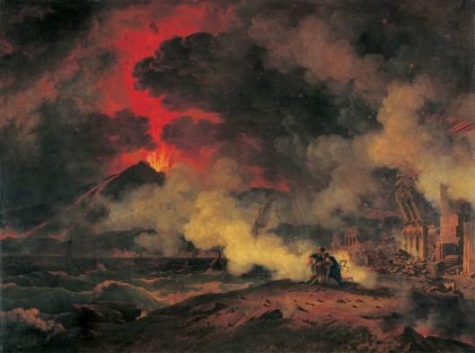 Pierre Henri de Valenciennes Eruption of Vesuvius 24 August A.D. 79 1813 Musée des Augustins Toulouse