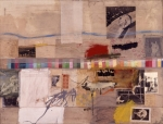 Robert Rauschenberg Small Rebus 1956 Museum of Contemporary Art Los Angeles