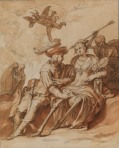 Abraham  Bloemaert Death and the Lovers ca 1620 30 Courtauld