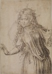 Albrecht Dürer A Wise Virgin 1493 Courtauld