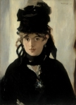 Édouard Manet Berthe Morisot with a Bouquet of Violets 1872 Musée d'Orsay Paris