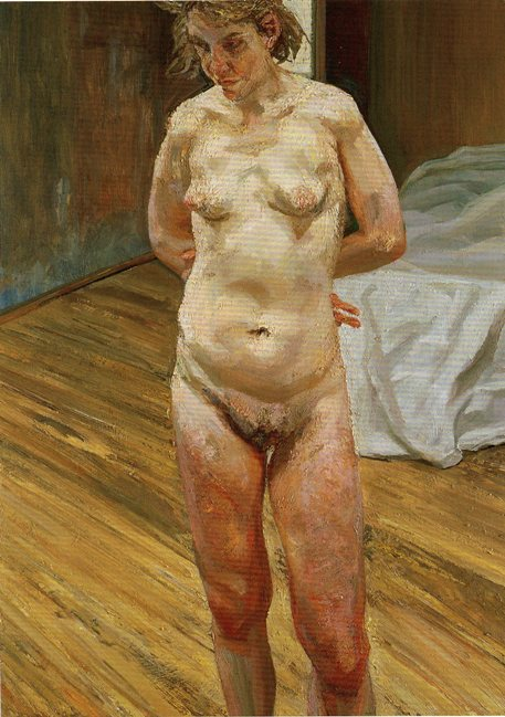 Not see Lucian freud naked portrait