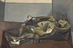Pablo Picasso Reclining Nude 1942 Berlin Museum Berggruen