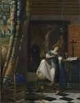 Vermeer Allegory of the Catholic Faith ca 1670 72 Met