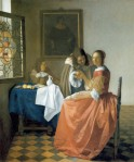 Vermeer Girl with the Wineglass ca 1659 60 Herzog Anton Ulrich-Museum Braunschweig