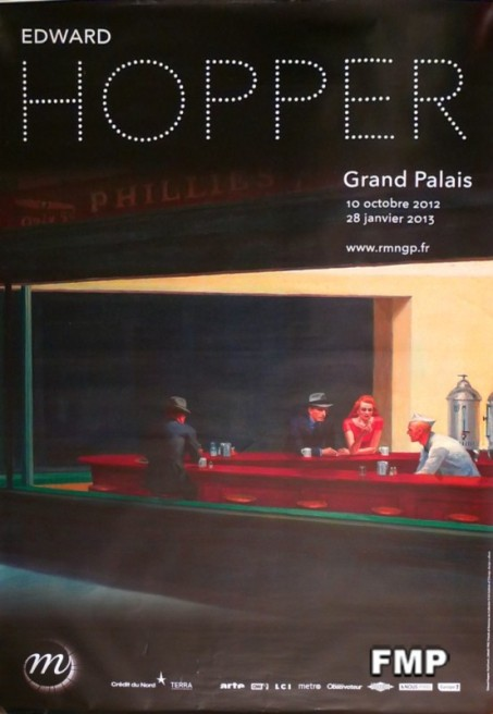 Edward Hopper Grand Palais poster