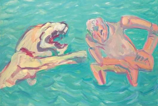 Maria Lassnig Nights. When the Mice Scream 1981 Essl Museum