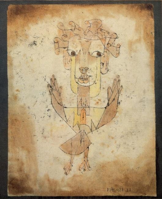 Paul Klee Angelus Novus 1920 Israel Museum Jerusalem