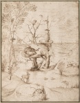 Hieronymus Bosch The Tree-Man ca 1505 Albertina Vienna