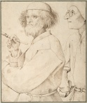 Pieter Bruegel the Elder The Painter and the Buyer1565 Albertina