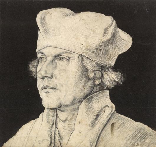 Albrecht Dürer Cardinal Matthäus Lang von Wellenburg 1518 or after 1520 21 Kunstmuseum Basel