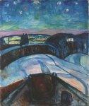 Edvard Munch Starry Night 1922 24 Munch Museum Oslo
