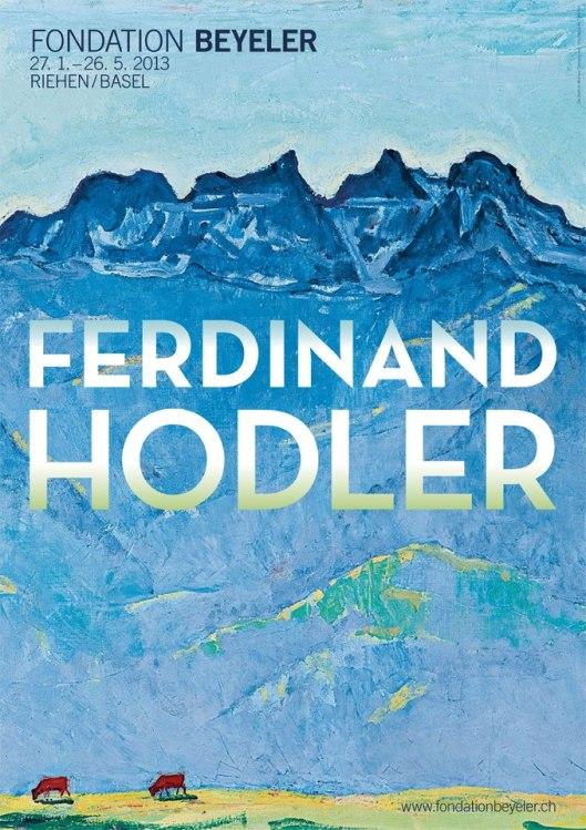 Ferdinand Hodler Fondation Beyeler poster