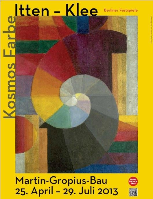 Cosmos of Colour Itten Klee poster Martin Gropius Bau Berlin