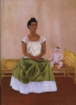 Frida Kahlo Me and My Doll 1937 Jacques and Natasha Gelman Collection of Mexican Art