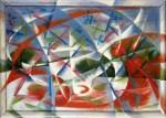 Giacomo Balla Abstract Speed + Sound 1913 14 Peggy Guggenheim Venice