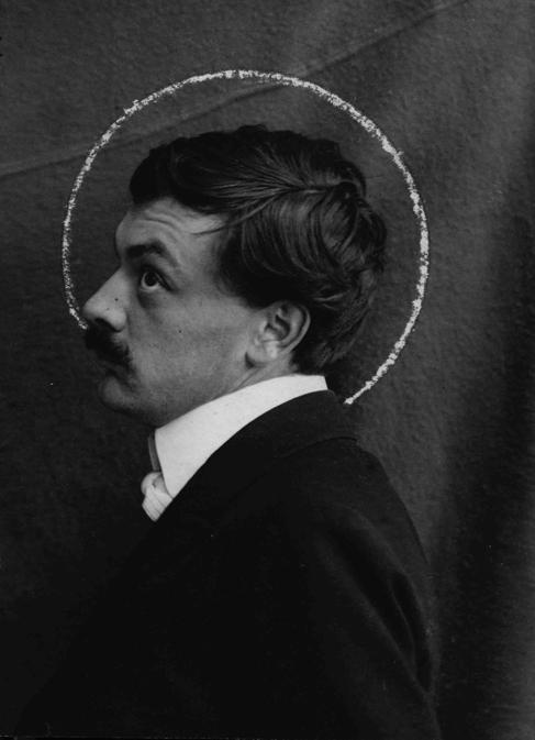 Koloman Moser ca 1903  photographer unknown