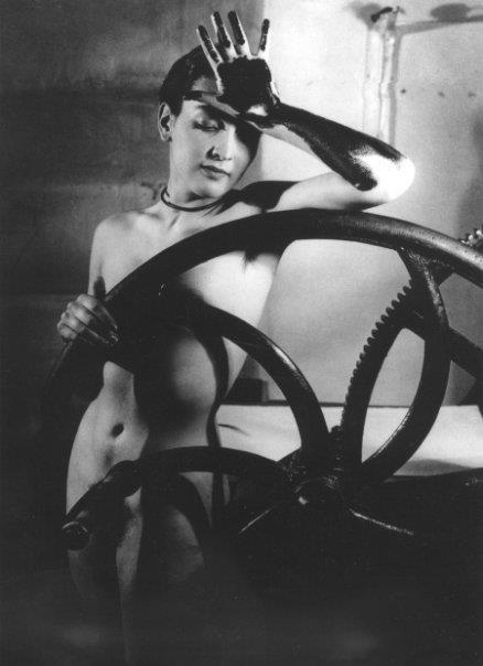 Man Ray Érotique voilée (Meret Oppenheim) 1933'