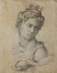 Michelangelo Cleopatra ca 1533 Florence Casa Buonarroti